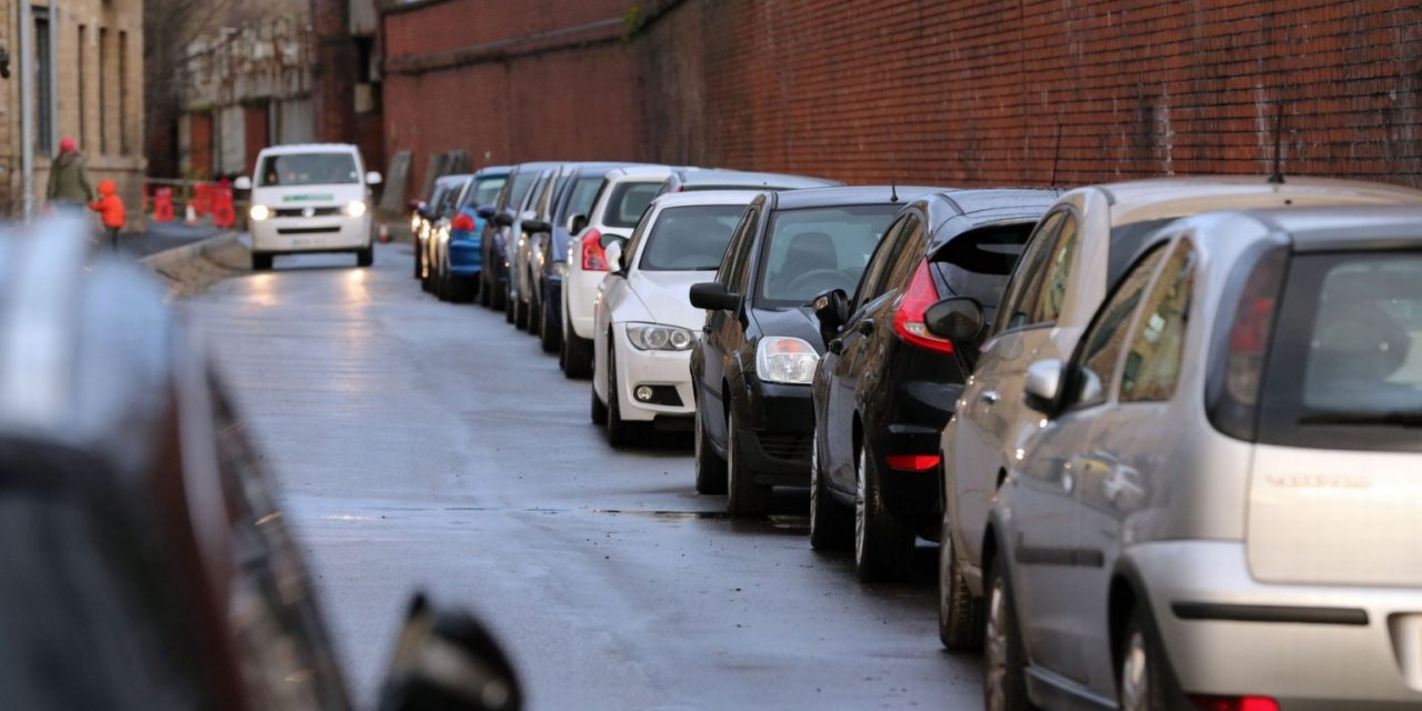 Hate thy neighbour: Who's parking in your space?