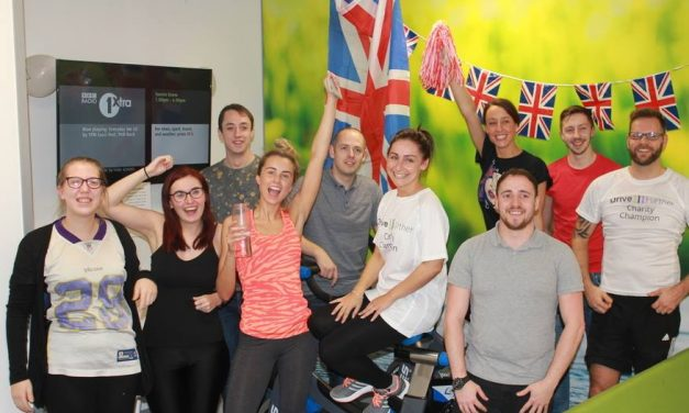 Drive Further come together to raise money for charity