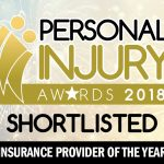 Financial & Legal Insurance shortlisted at the Personal Injury Awards